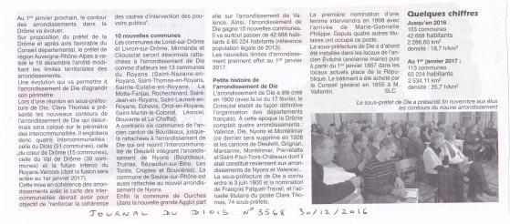 Article JDD Carte administrative Drôme 2017
