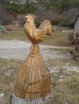 Les sculptures en bois
