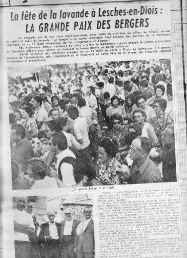Dauphiné Libéré 15.08.1971