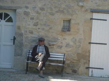 Roger attend le son du cor