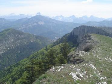 mi-mai 2012 crête du Puy et Devoluy