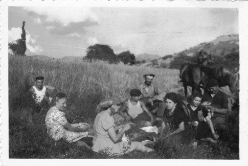 Traditionnel goûter champêtre 1940