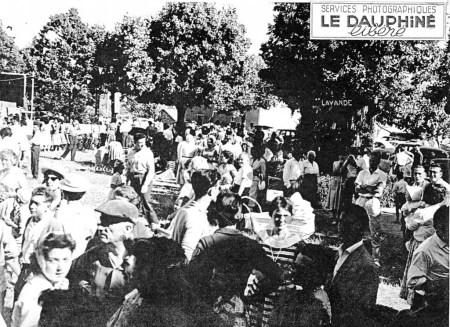 15.08.1958 Foule du Charel