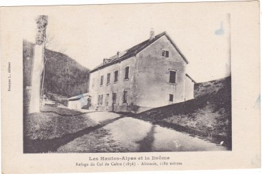Col de Cabre côté Hautes-Alpes