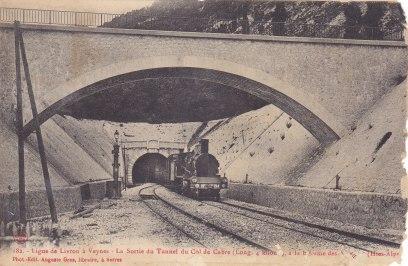 Tunnel du col de Cabre
