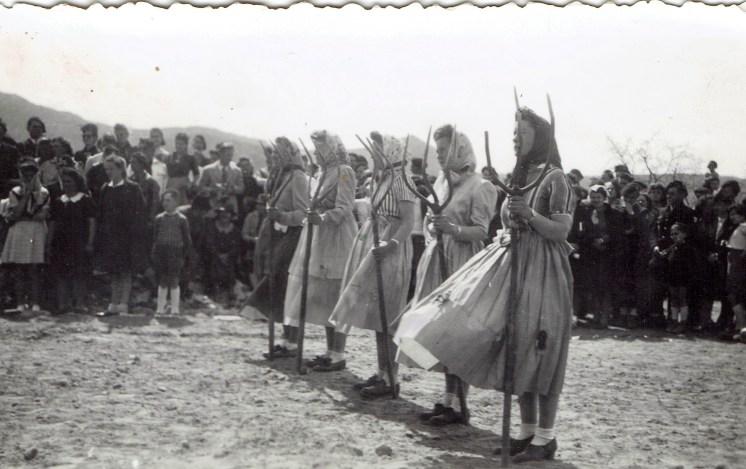 Fête à Lesches (Irène, Renée, Angèle, Mireille, Zizi)