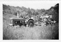 08.1956 Vers le champ de lavande