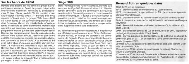 Bernard Buis Son parcours
