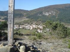 Le village vu de Chaitieu