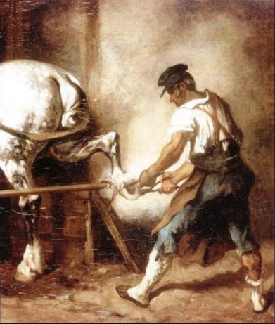Maréchal-ferrant Géricault