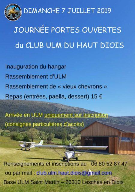 Journée portes ouvertes ULM