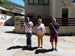 05.07.2020 Le Maire et les adjoints
