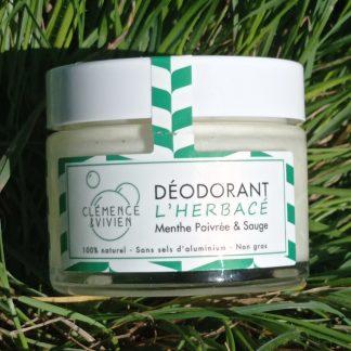 Déodorant l'Herbacé Clémence et Vivien