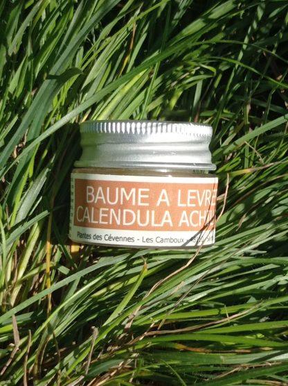 baume lèvres achillée calendula 8ml Plante des Cévennes