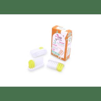 Lot recharge têtes brosse à dents Lamazuna