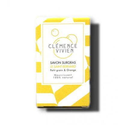 Savon le Saint Bernard petit grain et orange Clémence et Vivien