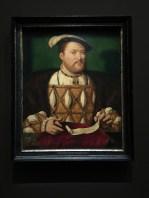 Joos van Cleve, Henri VIII, vers 1530-1535, 72,4 x 58,6 cm, huile sur panneau, Royal Collection, Londres