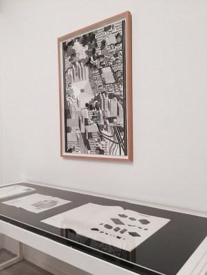 """Eva Le Roi - """"Post City"""" - Contribution graphique à la XIIIe Biennale d'architecture de Venise pour le pavillon du Luxembourg."""