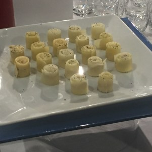 Ces roulés de fromage aux truffes étaient une tuerie !