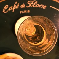 Champagne au Flore