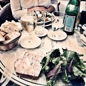 Déjeuner au Flore