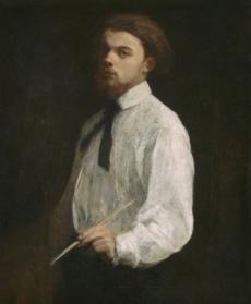 Autoportrait, 1859, Musée de Grenoble
