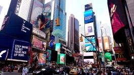 4) Time Square