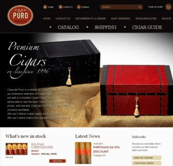order cigar, commande cigare, achat cigare, cigare discount quality