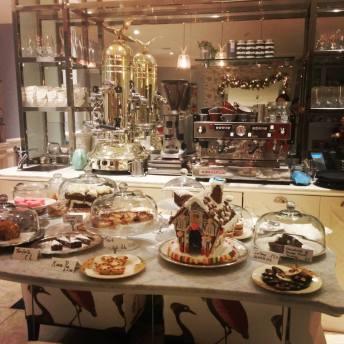 christmas display of treats