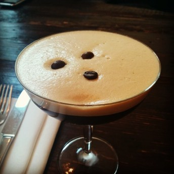 espresso martini @ cocktail bar