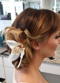 Sarasota wedding hair flowers