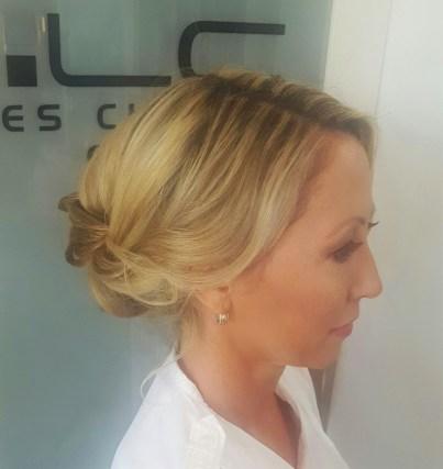 Sarasota wedding hair salon beach wedding
