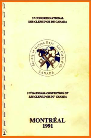 1991 Programme Montreal