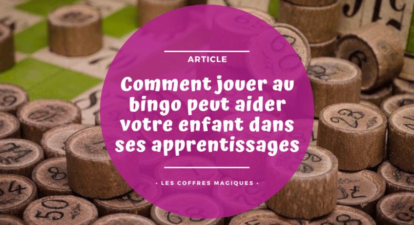 Comment jouer au bingo peut aider votre enfant dans ses apprentissages