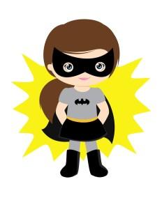 Superhero fille