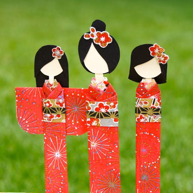 kokeshi dolls Japon