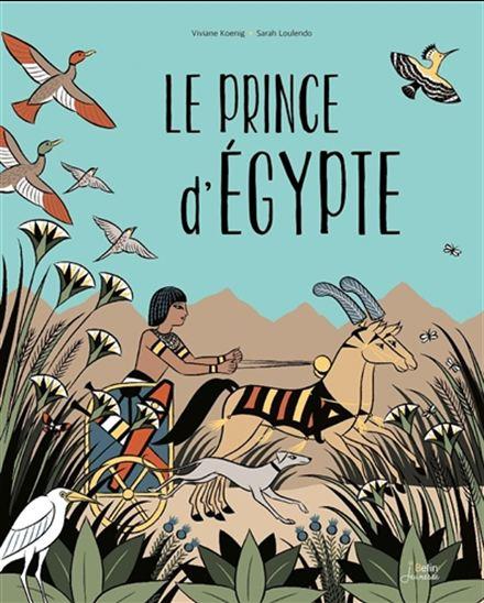 livre le prince d'Egypte