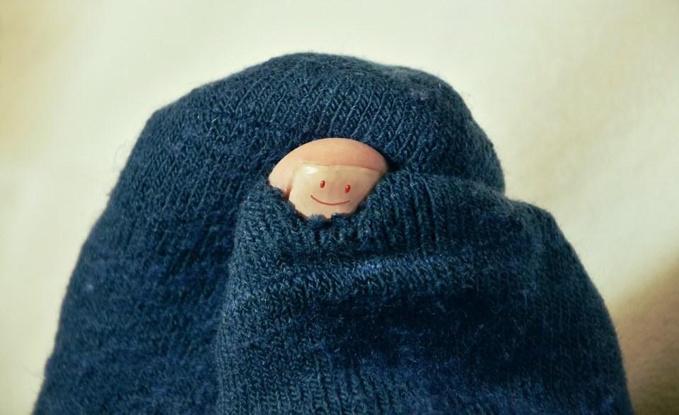 Y a du trou dans la chaussette