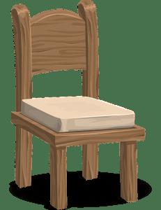 Exemple de chaise