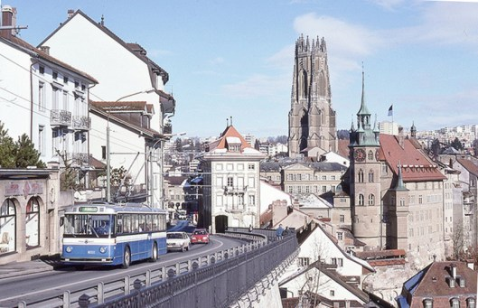fribourg trolley