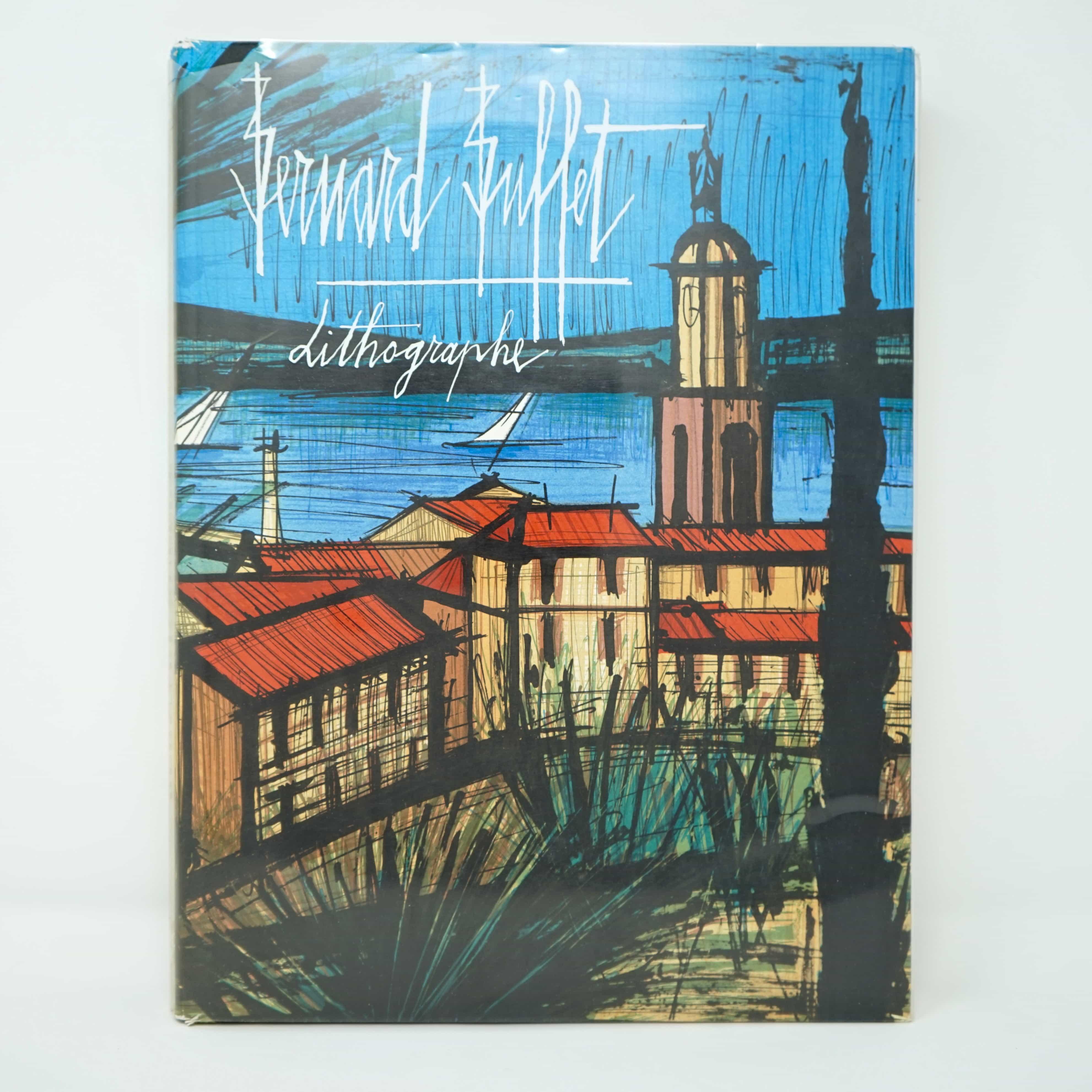 Livre d'Art Bernard Buffet Lithographe Par Charles Sorlier Couverture