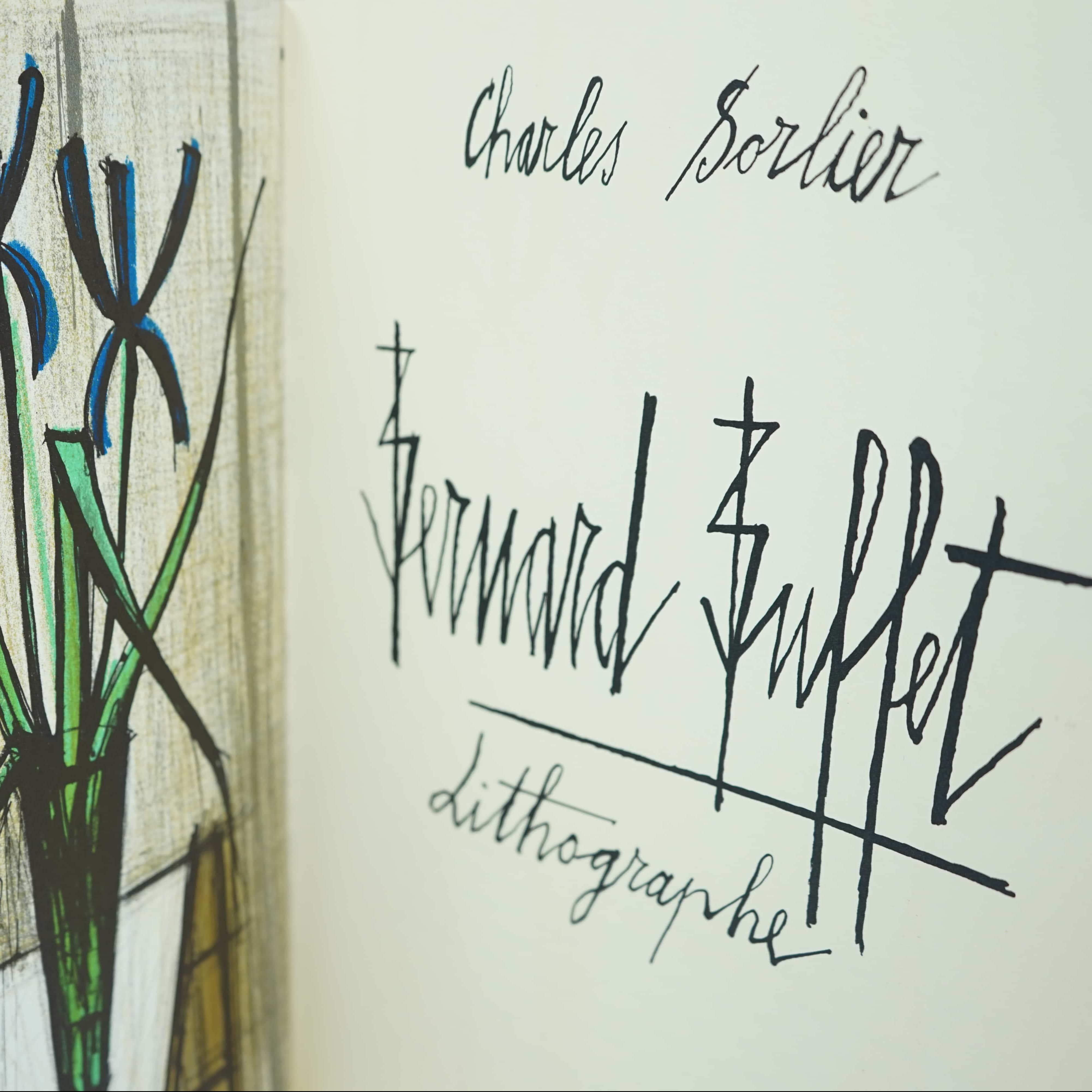 Livre d'Art Bernard Buffet Lithographe intérieur