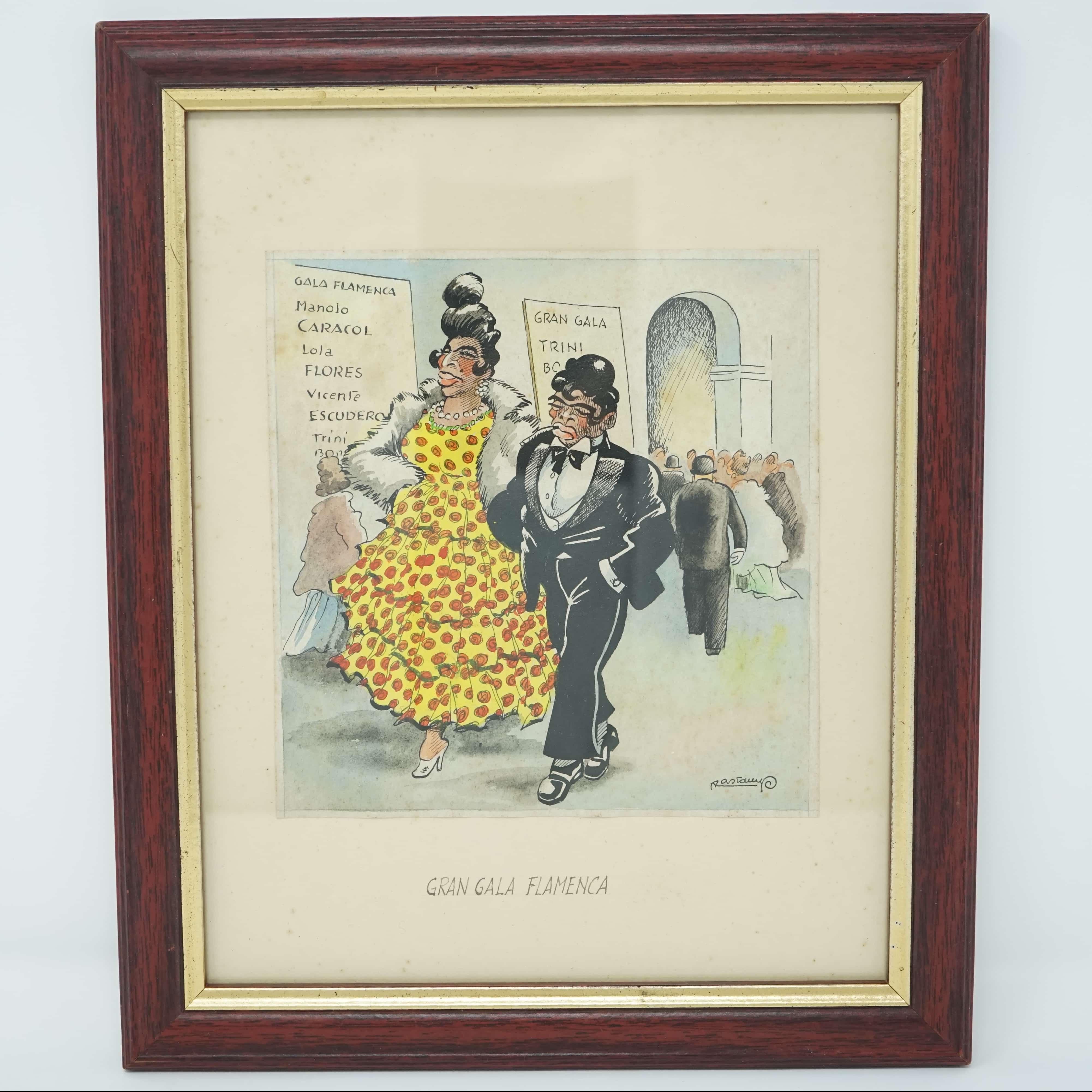 Dessin Original Gran Gala Flamenca