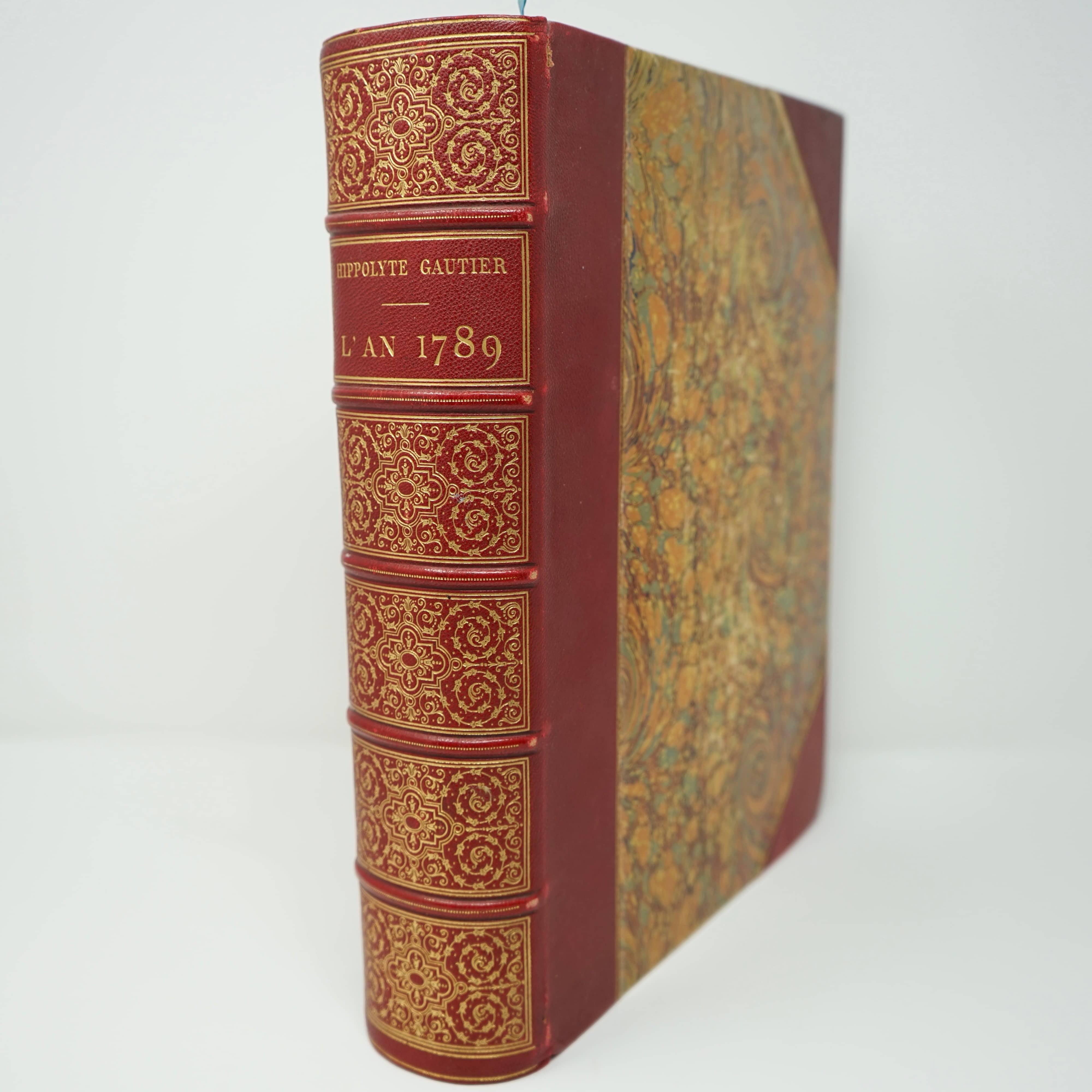 Livre L'An 1789 de Hippolyte Gautier