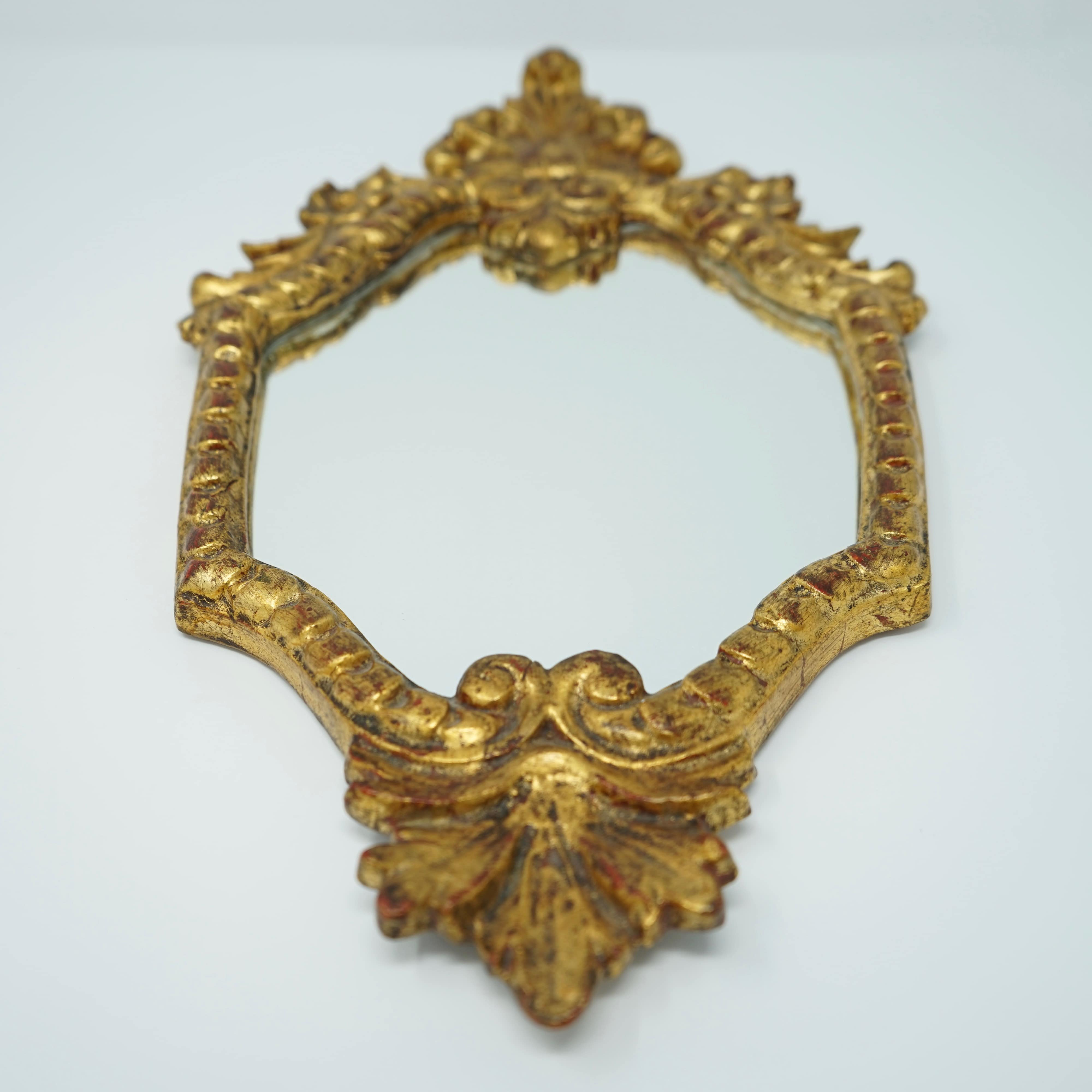 Miroir Rocaille en Bois N°2