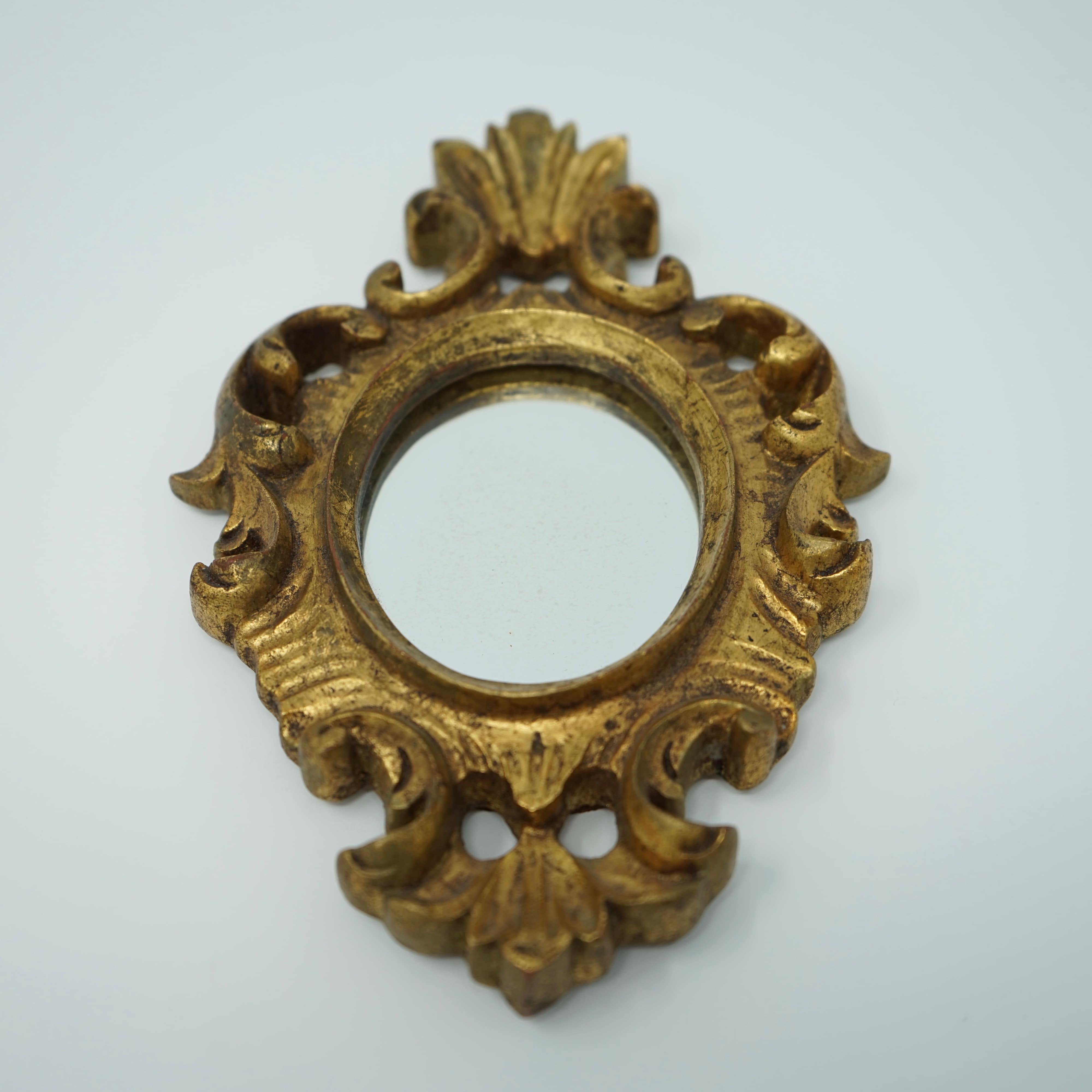Très Petit Miroir Style Rocaille