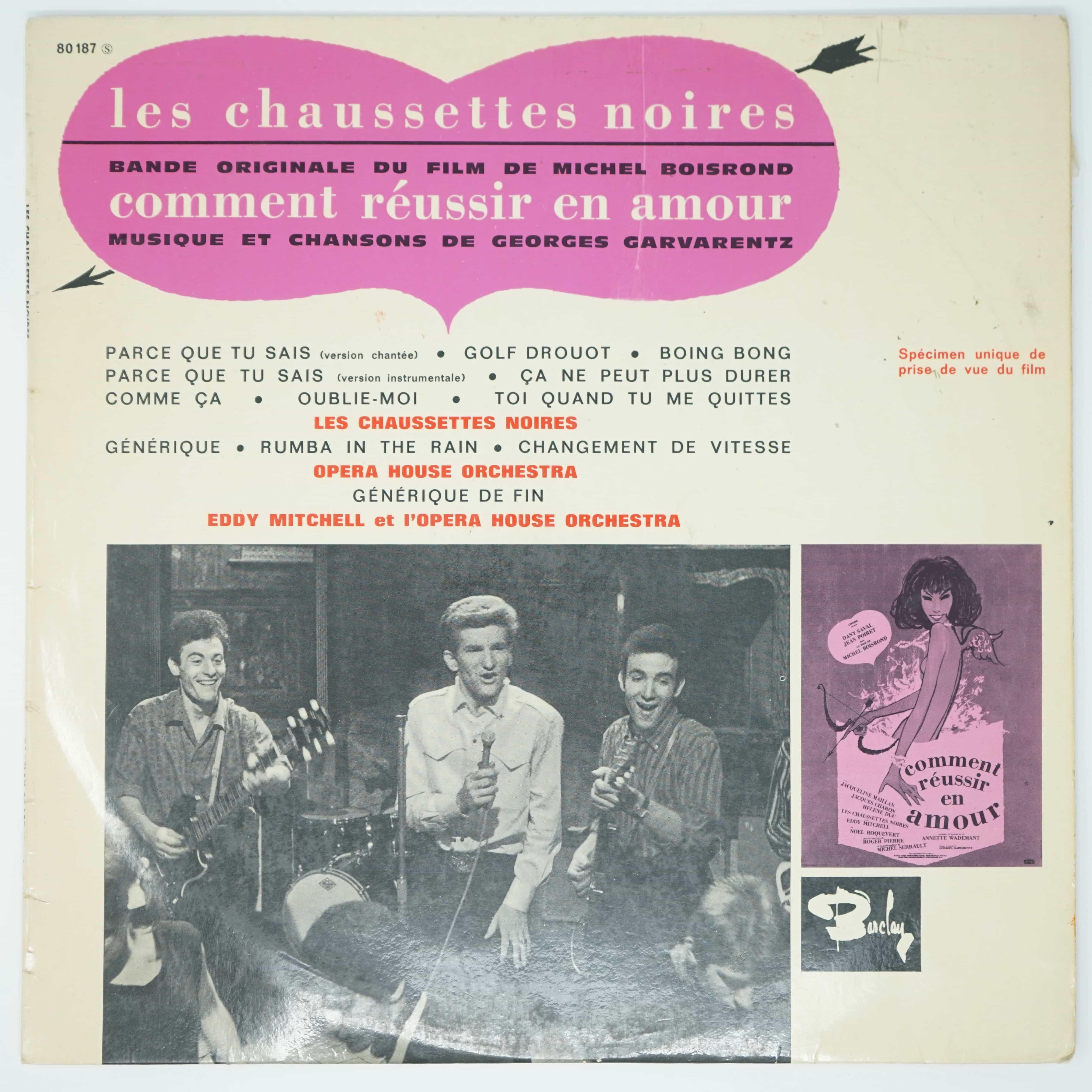 Vinyle Les Chaussettes Noires