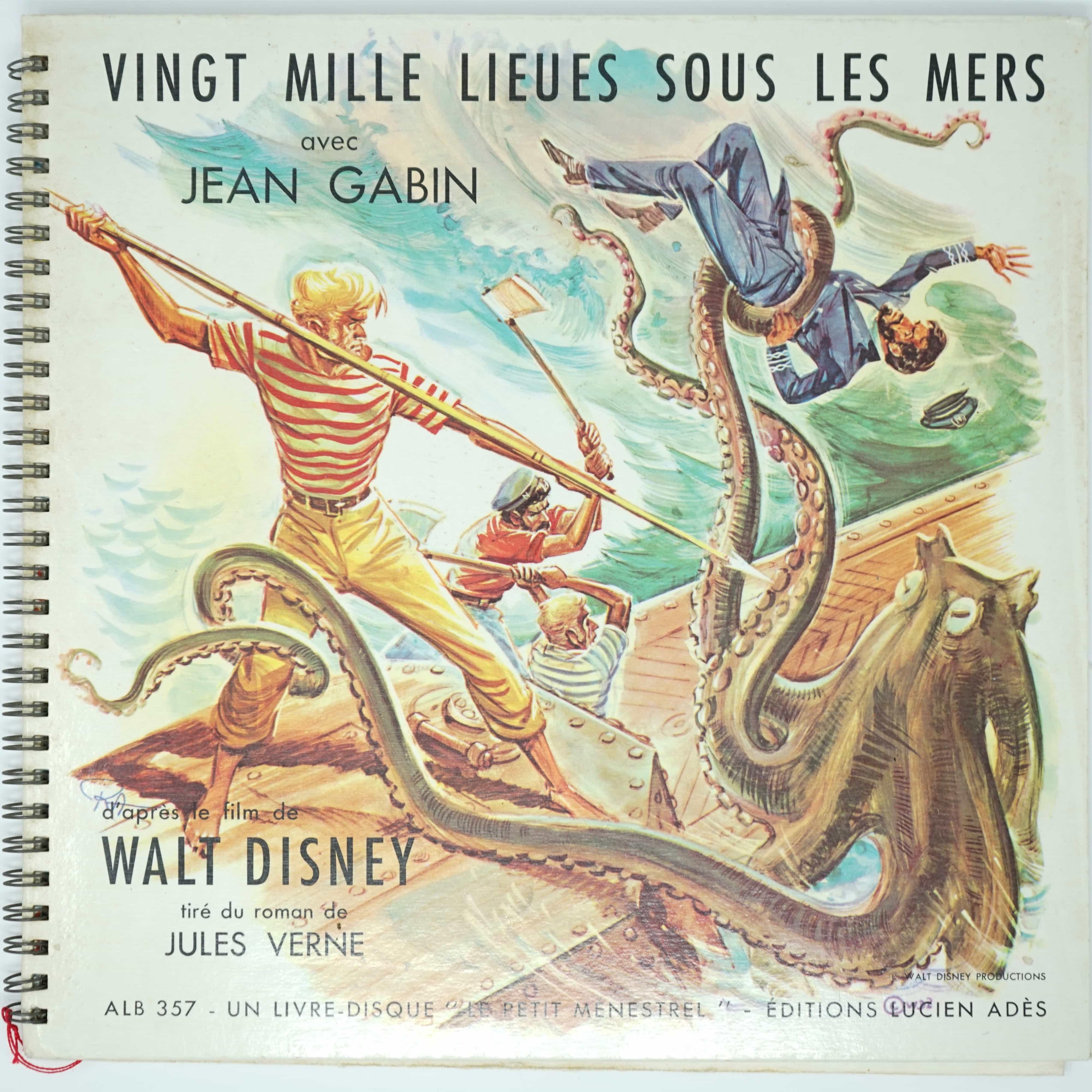 Vinyle Vingt Mille Lieues Sous les Mers
