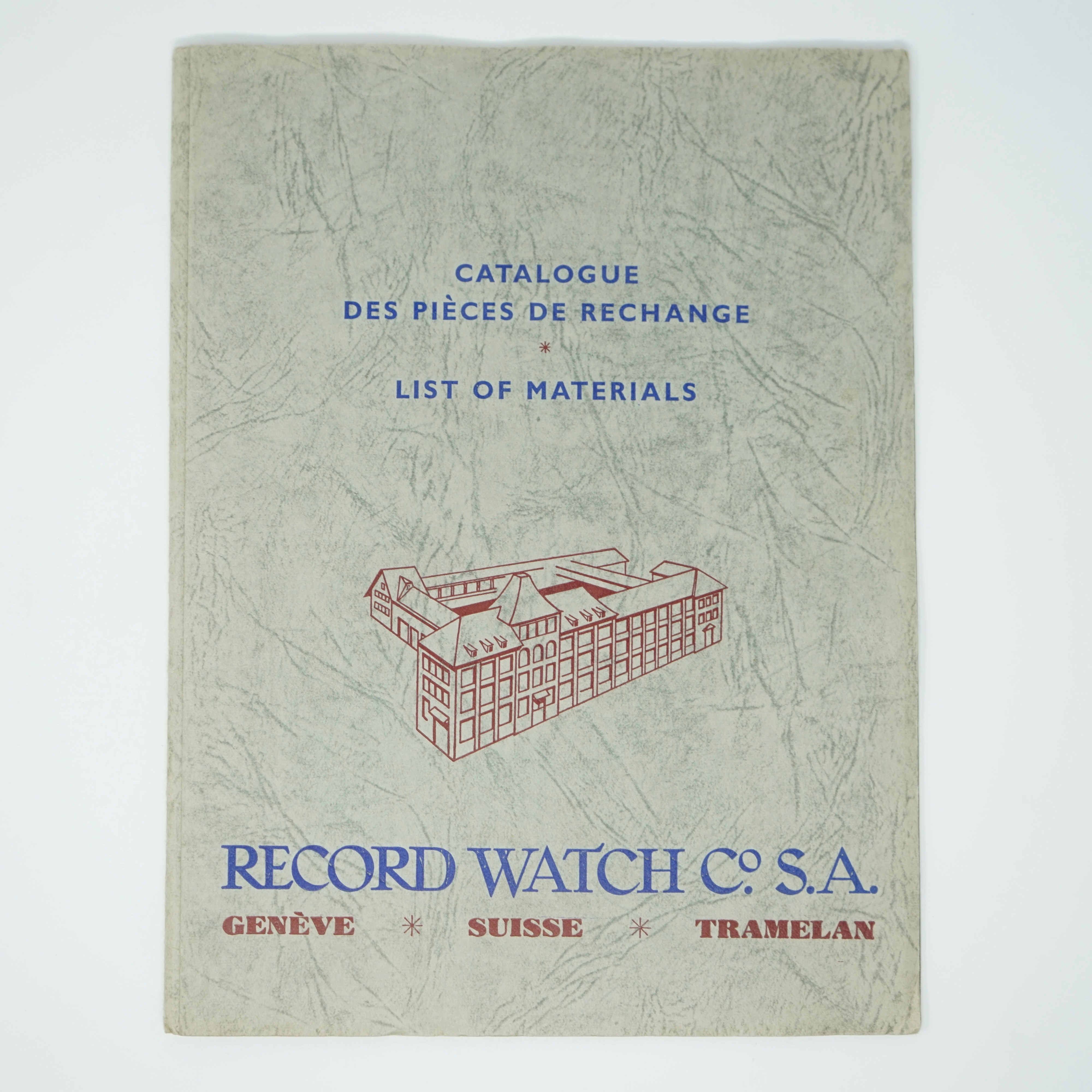 Catalogue Records Watch