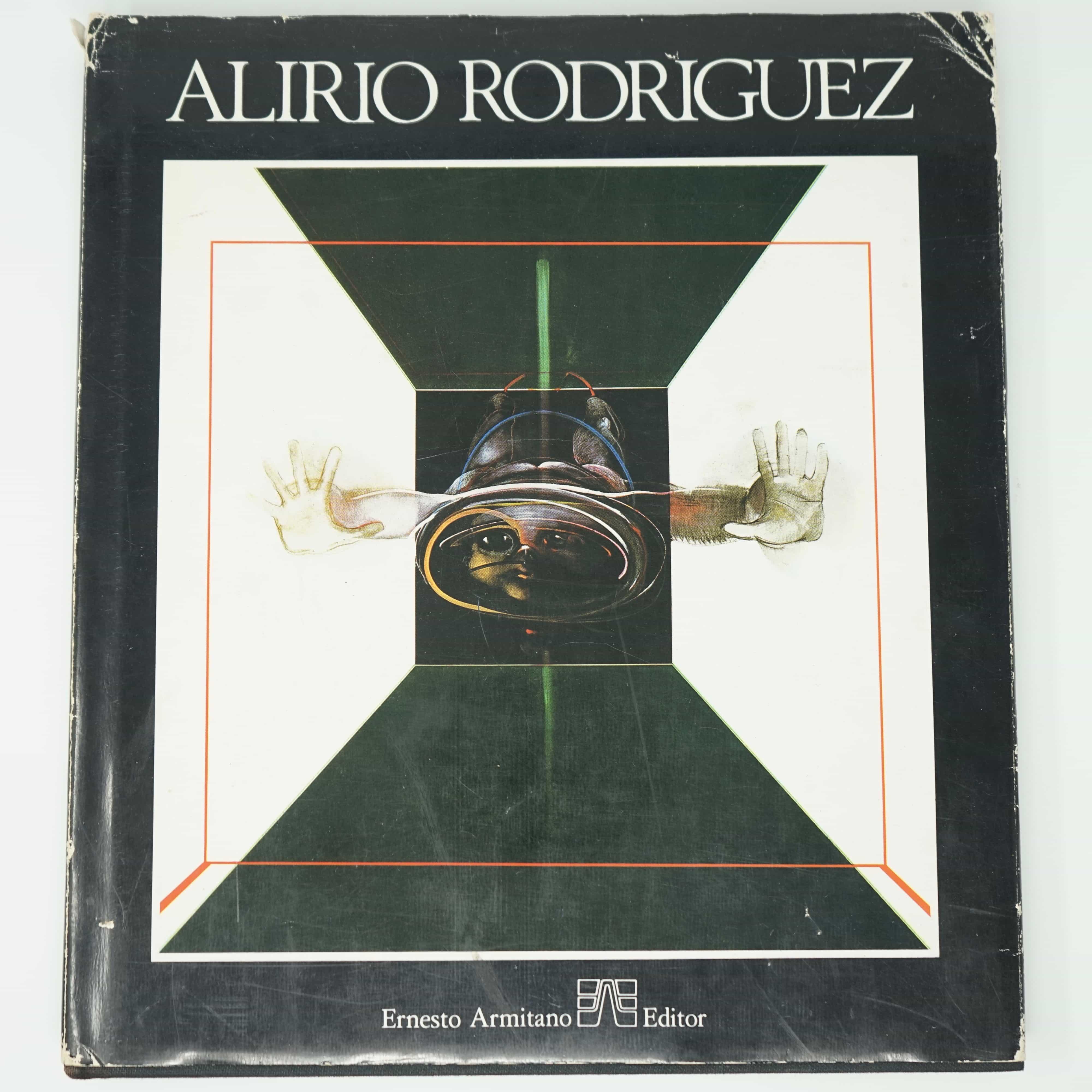 Livre Alirio Rodriguez Original et Dédicacé Couverture